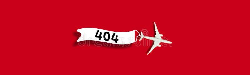 plantilla de la p?gina de 404 errores para el sitio web imagenes de archivo