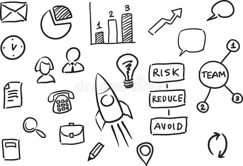 Plantilla de la presentación del negocio de Whiteboard libre illustration