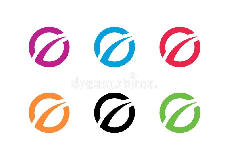 Plantilla de logotipo de finanzas comerciales, símbolo de mejora o desarrollo - Vector ilustración del vector