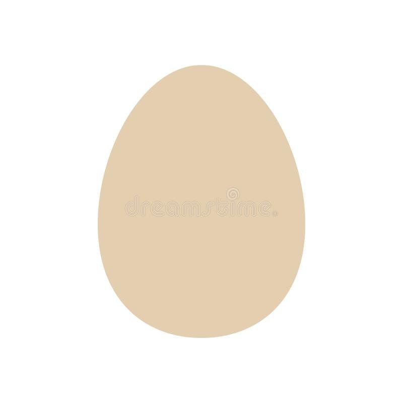 Plantilla de los huevos para pascua pictogram S?mbolo cristiano Modelo de Pascua Alimento S?mbolo, icono, efectos de escritorio a libre illustration