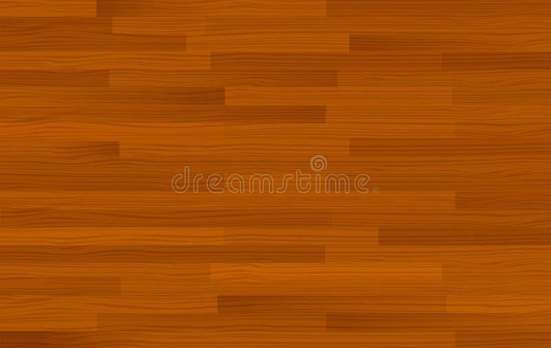Plantilla de madera del fondo del marrón oscuro ilustración del vector