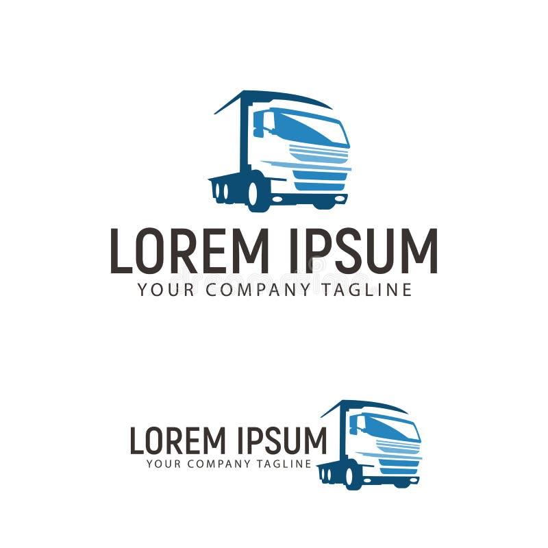 Plantilla de trueque del concepto de diseño del logotipo del transporte ilustración del vector
