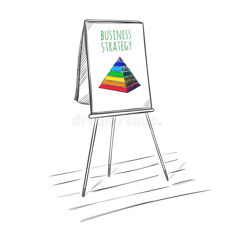 Plantilla del bosquejo de la presentación del negocio de Infographic libre illustration