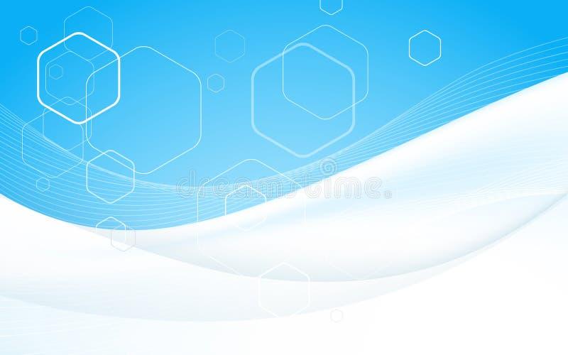 Plantilla del diseño de la cubierta del folleto del negocio Vector Fondo para una tarjeta de la invitación o una enhorabuena imagen de archivo libre de regalías