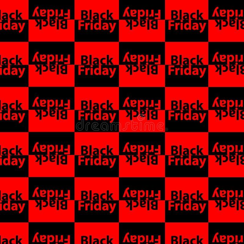 Plantilla del diseño de la inscripción de la venta de Black Friday Modelo de Black Friday Ilustración del vector libre illustration