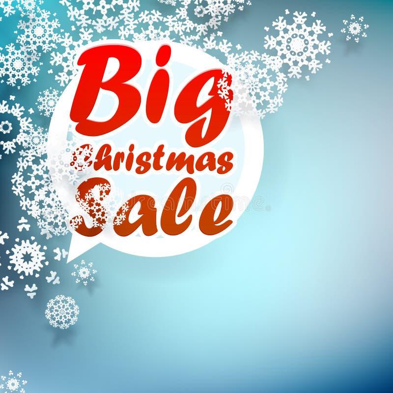 Plantilla del diseño de la venta de la Navidad. + EPS10 libre illustration