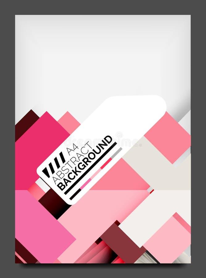 Plantilla del diseño del aviador, disposición del web del negocio libre illustration