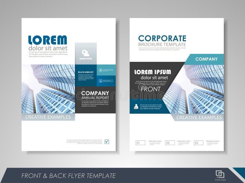 Plantilla del diseño del folleto del negocio libre illustration