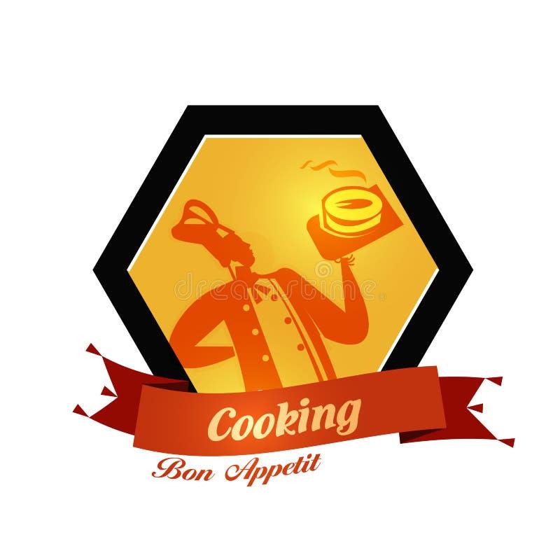 Plantilla del diseño del logotipo del vector de la panadería pan o comida libre illustration