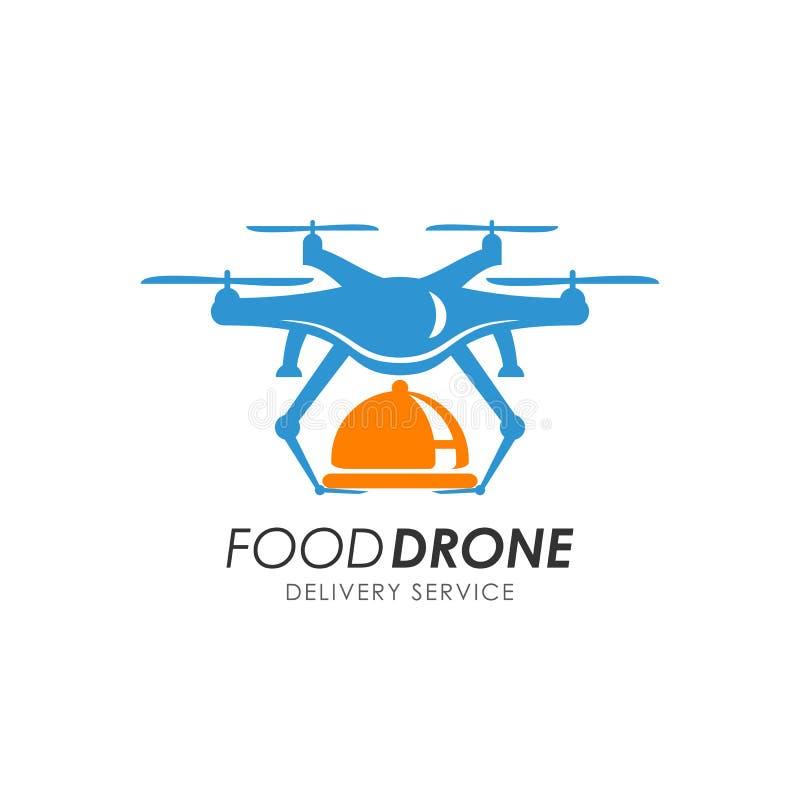 plantilla del diseño del logotipo de la entrega del abejón de la comida libre illustration