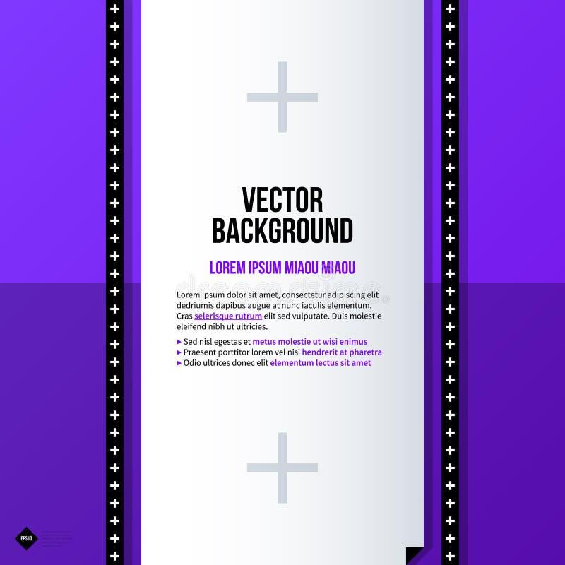 Plantilla del fondo del texto Vector Eps10 ilustración del vector