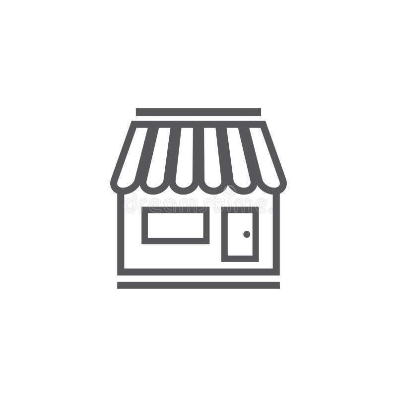 Plantilla del icono de la tienda libre illustration