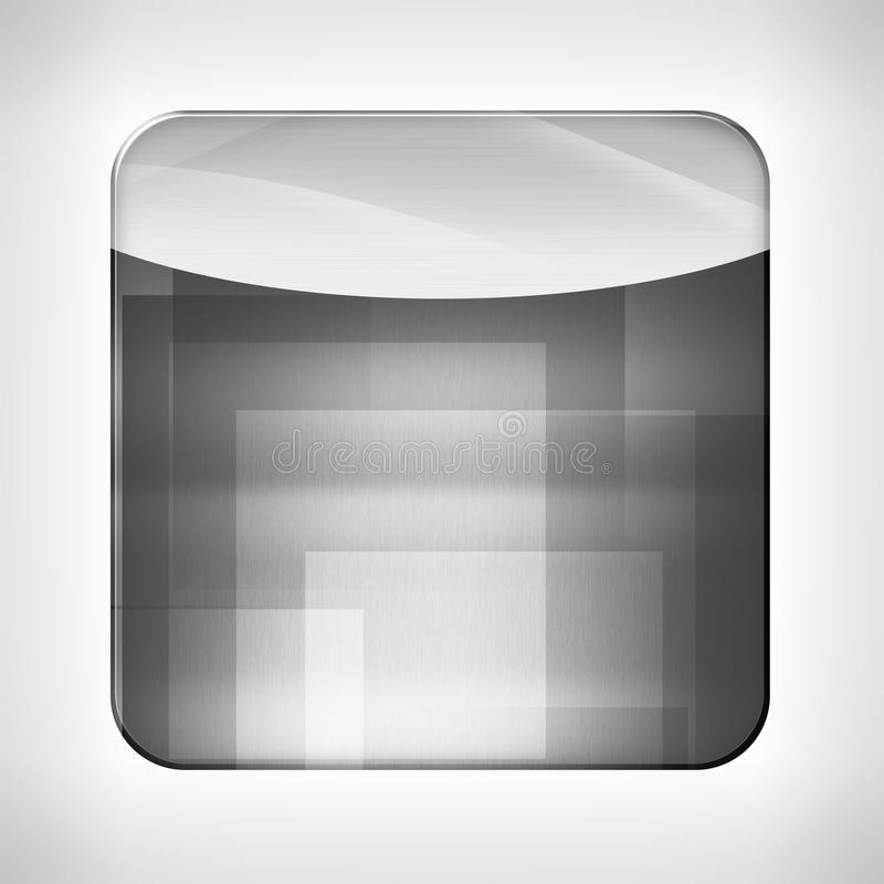 Plantilla del icono para los usos ilustración del vector