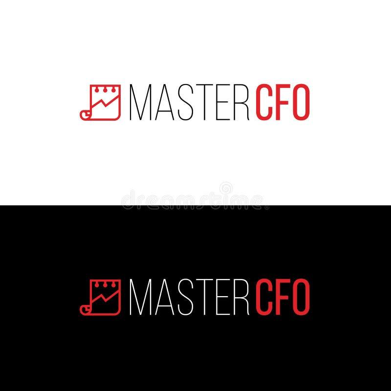 Plantilla del logotipo de la contabilidad Emblema companny financiero libre illustration
