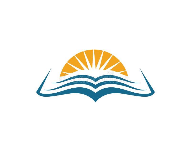 Plantilla del logotipo de la educación ilustración del vector