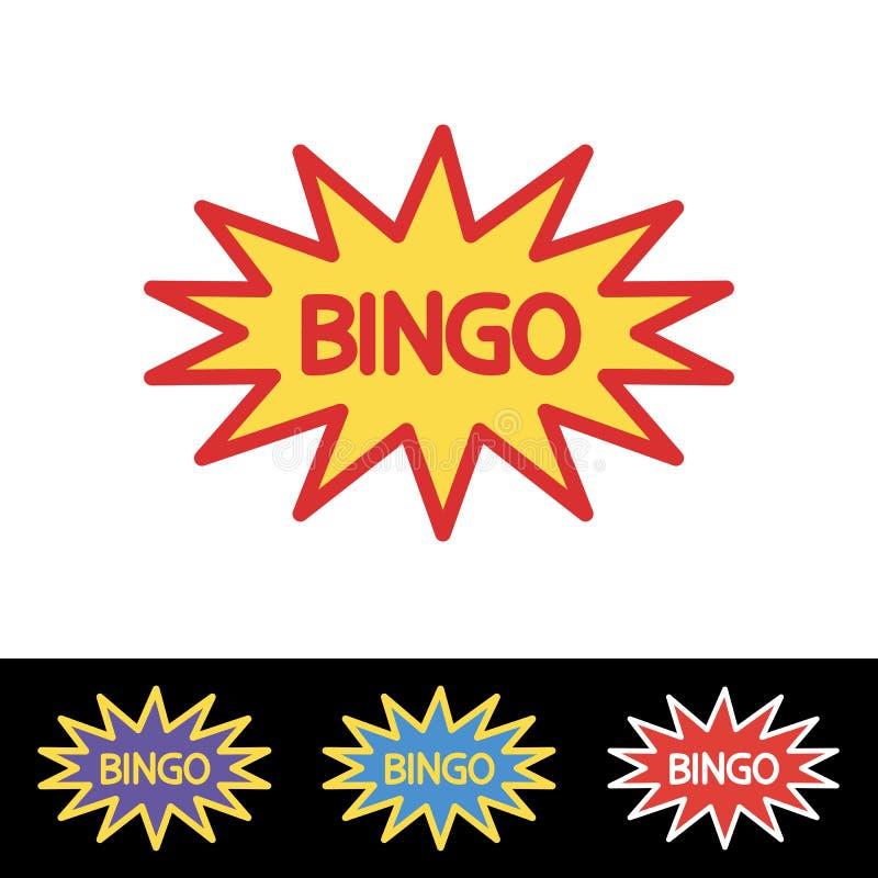 Plantilla Del Logotipo De La Lotería De La Loteria Del Bingo ...