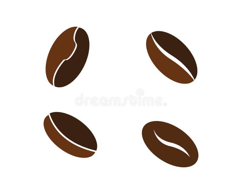 Plantilla del logotipo de la taza de caf? stock de ilustración