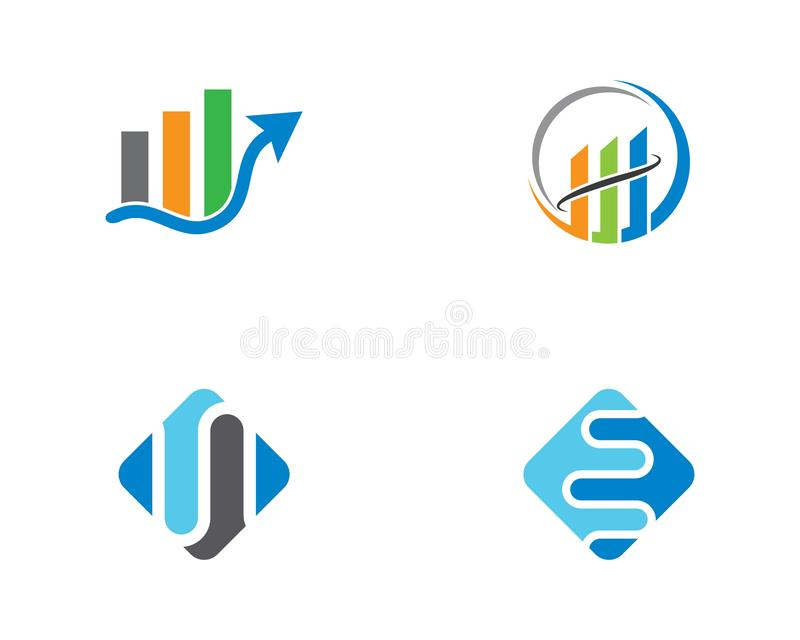 Plantilla del logotipo de las finanzas del negocio libre illustration