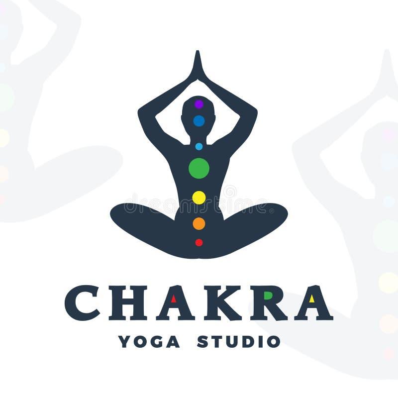 Plantilla Del Logotipo Del Estudio De La Yoga Logotipo De La ...