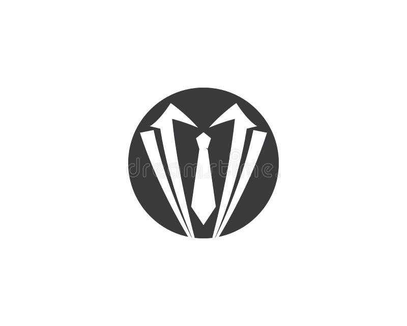 Plantilla del logotipo del smoking libre illustration