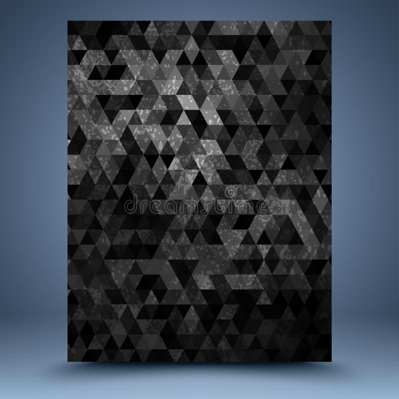 Plantilla del mosaico del Grunge libre illustration
