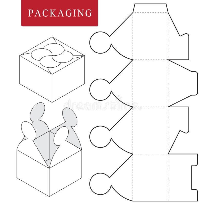 plantilla del paquete o stock de ilustración