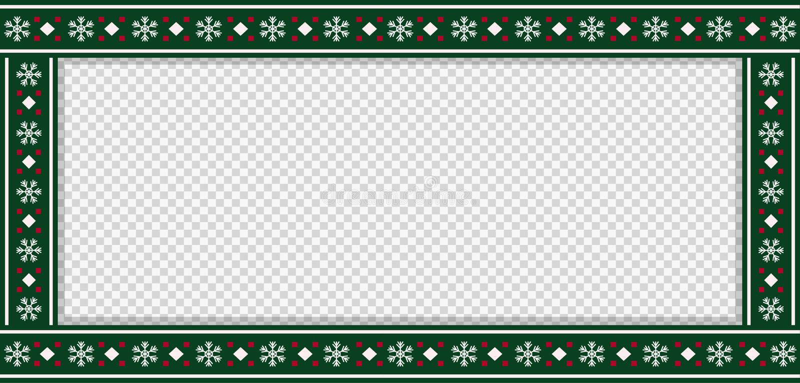 Plantilla del rectángulo de la Navidad, marco, bandera, cartelera, letrero, espacio de la copia libre illustration
