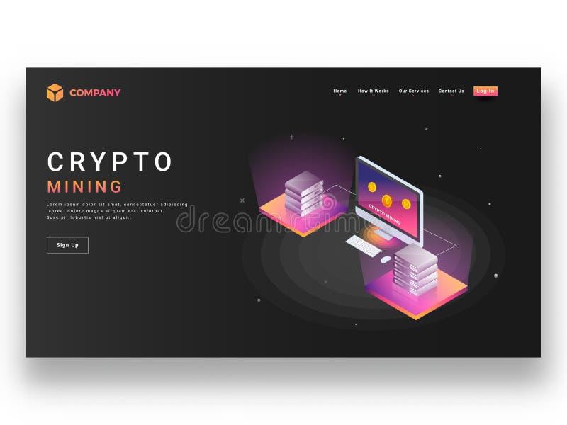 Plantilla del sitio web o diseño responsiva de la página del aterrizaje con isometri libre illustration