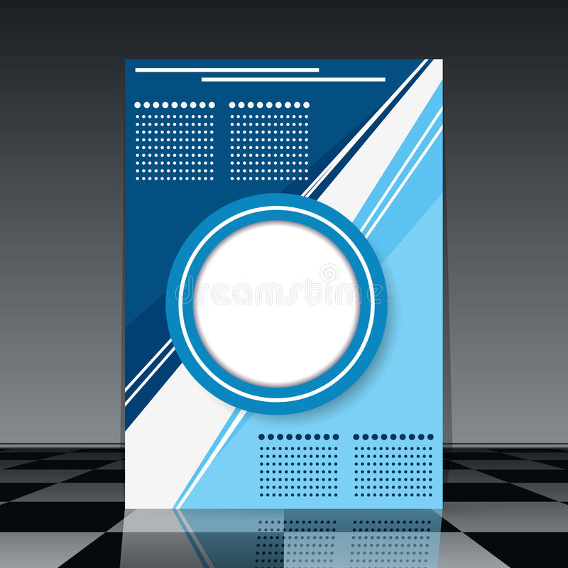 Download Plantilla Del Vector Del Aviador Ilustración del Vector - Ilustración de azul, folleto: 44855914