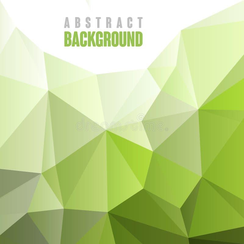 Plantilla geométrica abstracta del fondo del estilo ilustración del vector