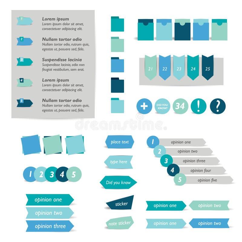 Download Plantilla Infographic Del Círculo Ilustración del Vector - Ilustración de elemento, concepto: 42443865