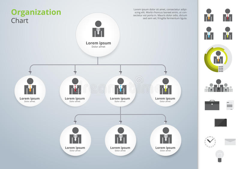 Plantilla moderna y simple del vector de organización de la carta Vector la enfermedad ilustración del vector