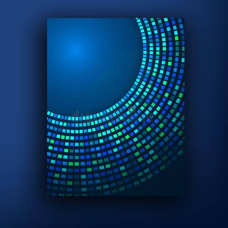 Plantilla o bandera del diseño de negocio del folleto Fondo abstracto del vector libre illustration
