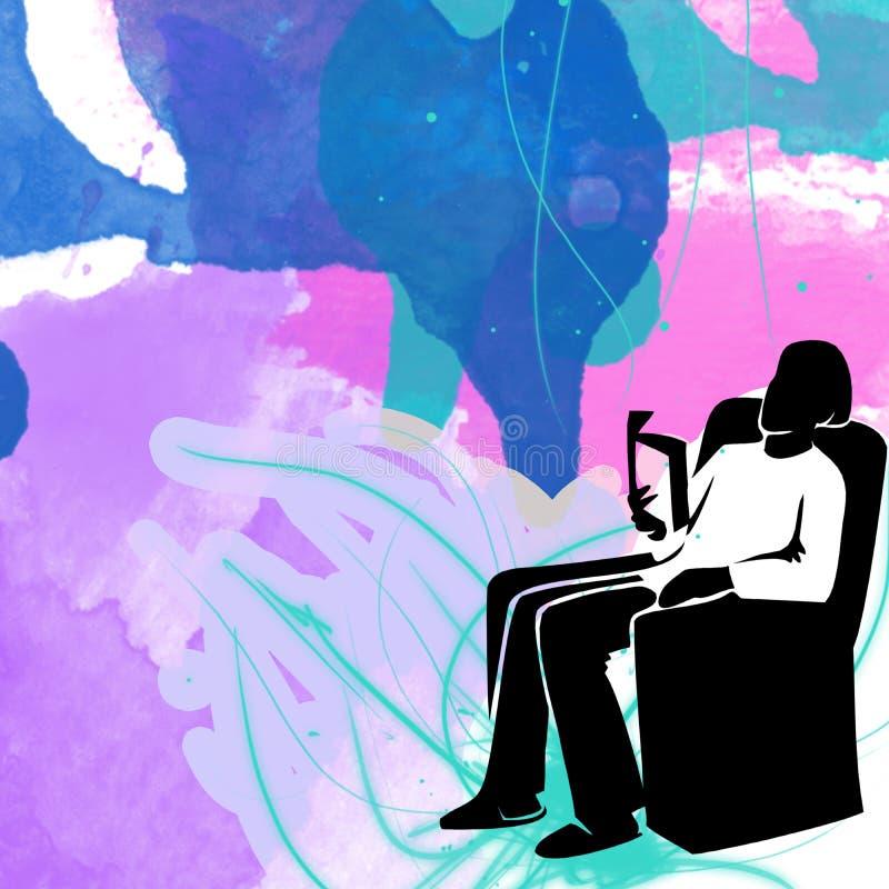 Plantilla para las tarjetas de felicitación libre illustration