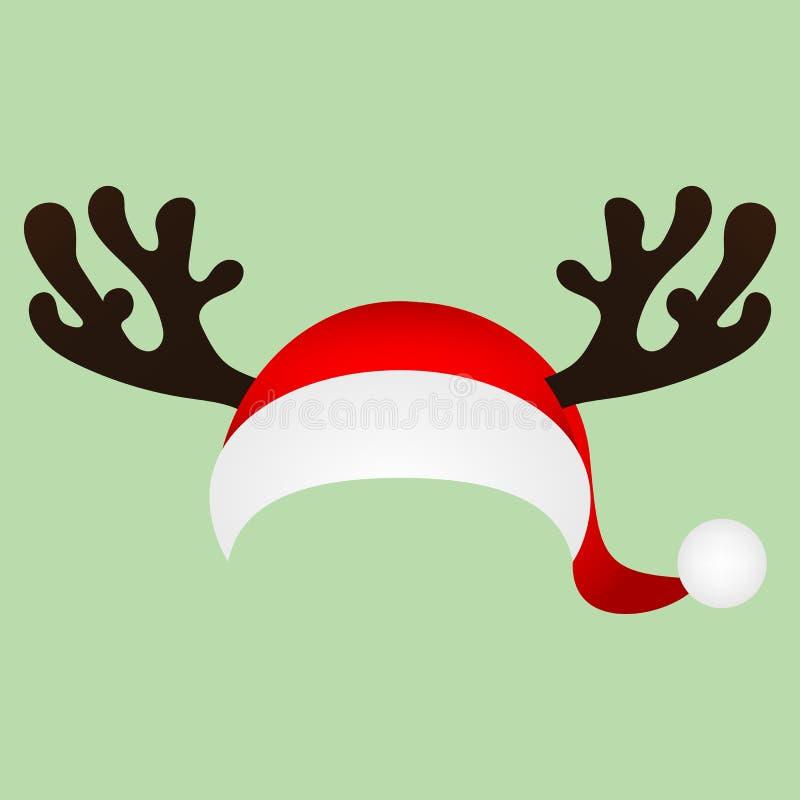 Atractivo Uñas Sombrero De Navidad Viñeta - Ideas Para Esmaltes ...