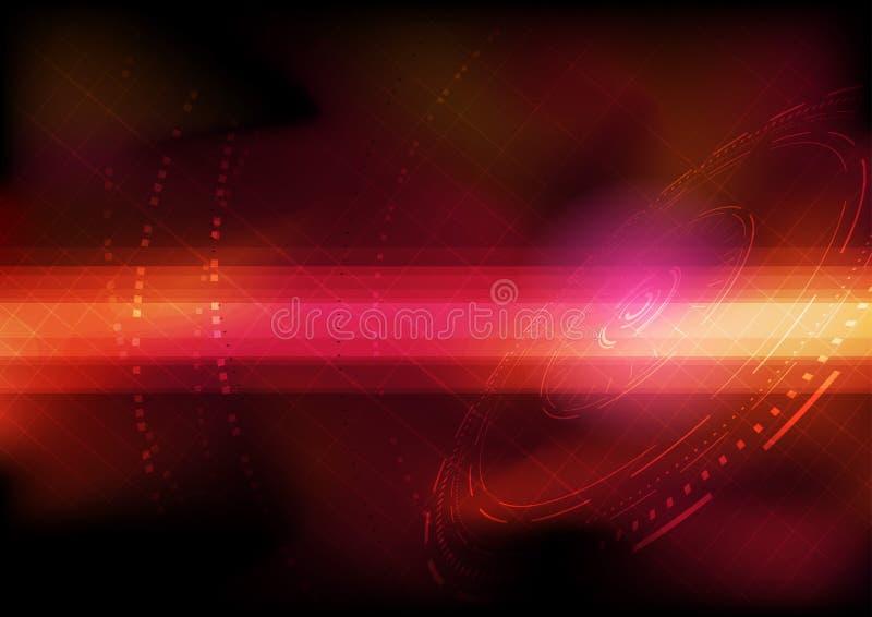 Plantilla transparente del fondo del ordenador ilustración del vector