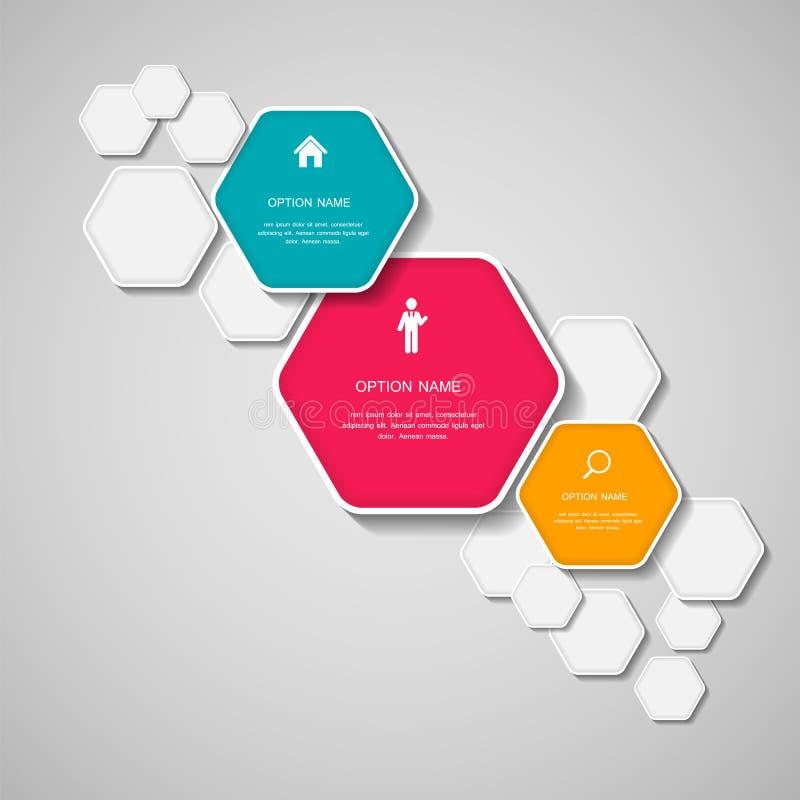 Plantillas de Infographic para el ejemplo del vector del negocio. libre illustration