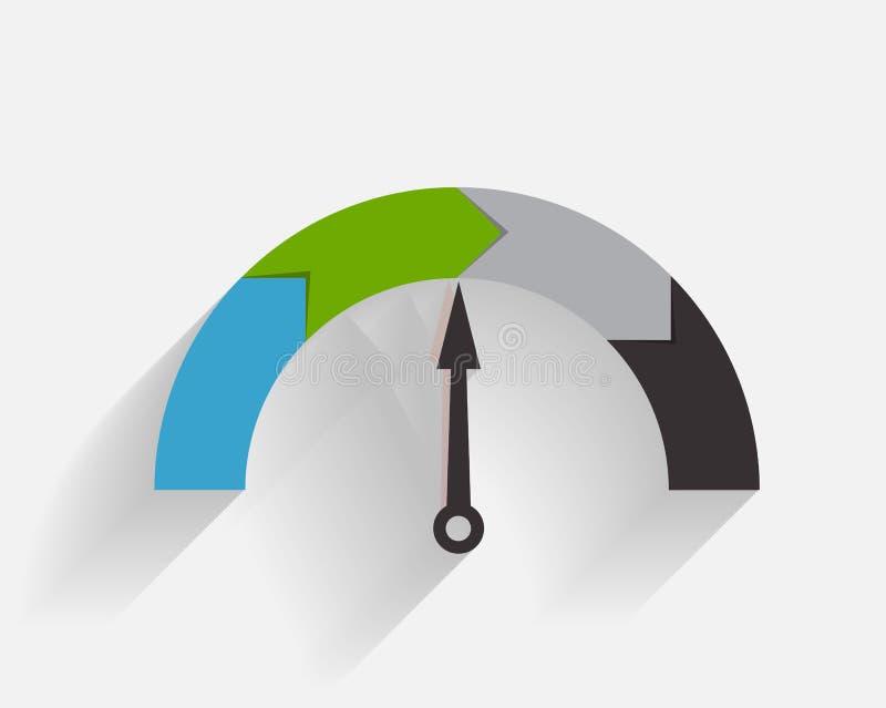 Plantillas de Infographic para el ejemplo del vector del negocio stock de ilustración