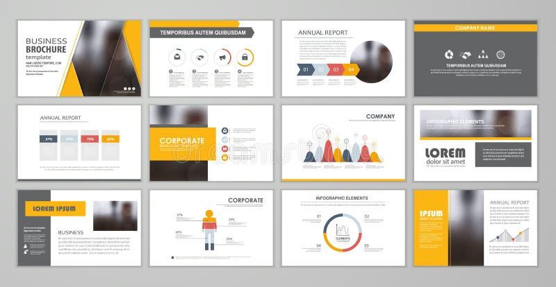 Plantillas de la diapositiva de la presentación libre illustration