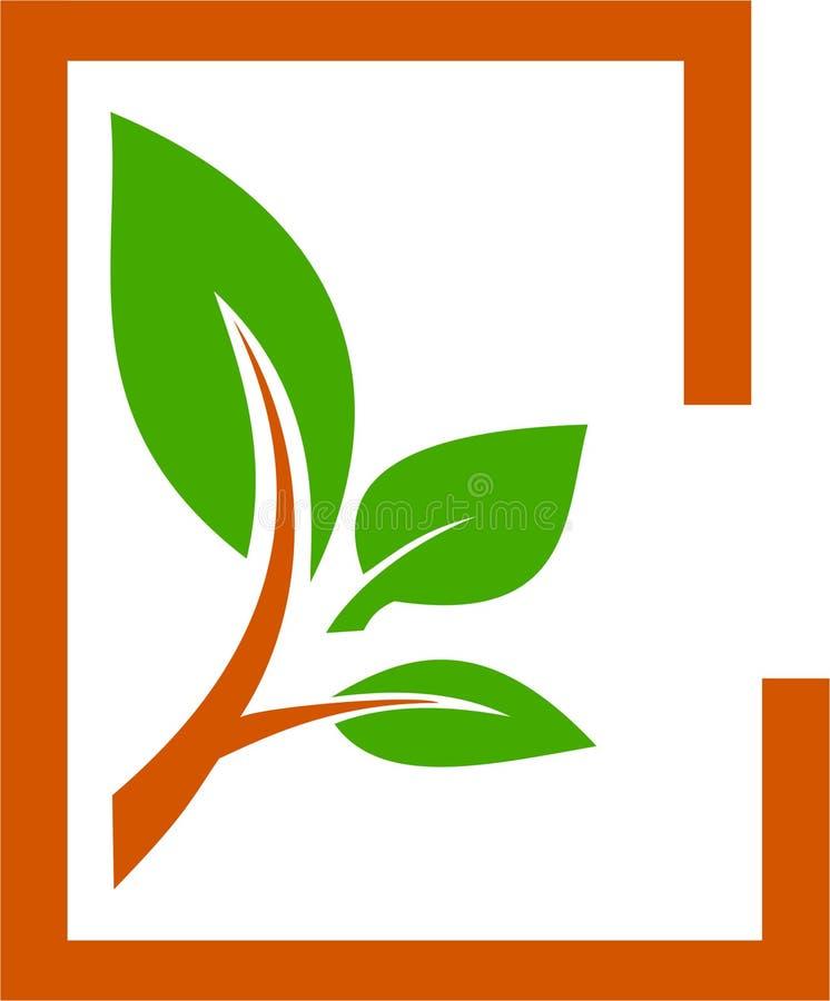 Plantillas del árbol e imagen del logotipo libre illustration