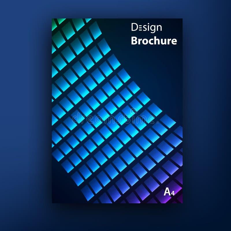 Plantillas del diseño de la cubierta del folleto del folleto del vector ilustración del vector