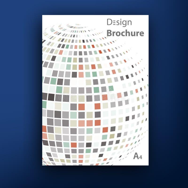 Plantillas del diseño de la cubierta del folleto del folleto del vector libre illustration