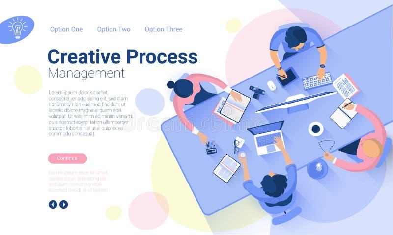 Plantillas del diseño de la página web libre illustration