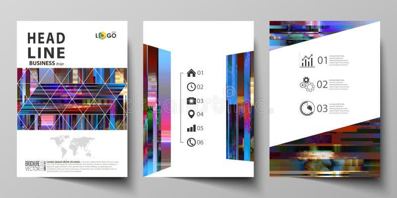 Plantillas del negocio para el folleto, revista, aviador, informe anual Cubra la plantilla del diseño, disposición abstracta del  libre illustration