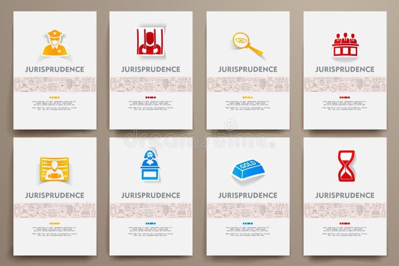 Plantillas del vector de la identidad corporativa fijadas con libre illustration