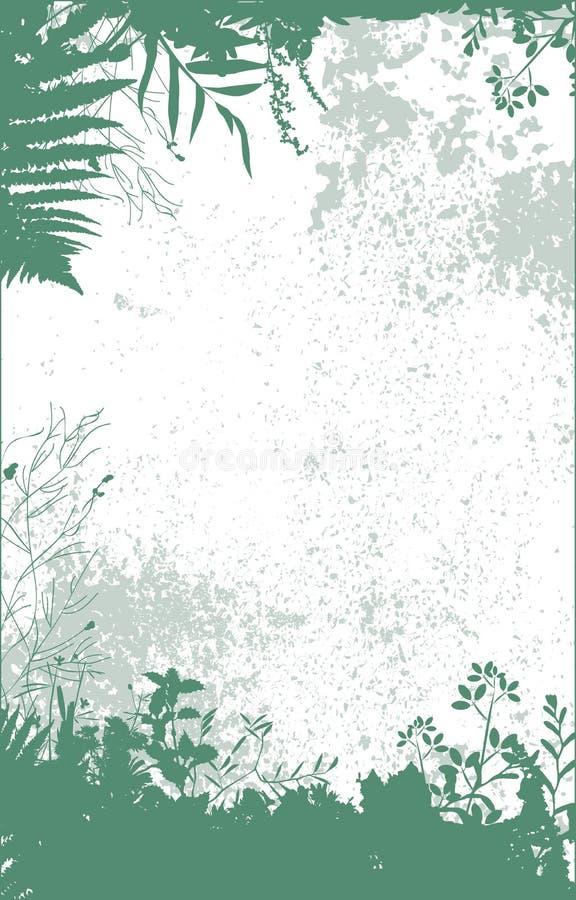 Plants_frame stock illustratie