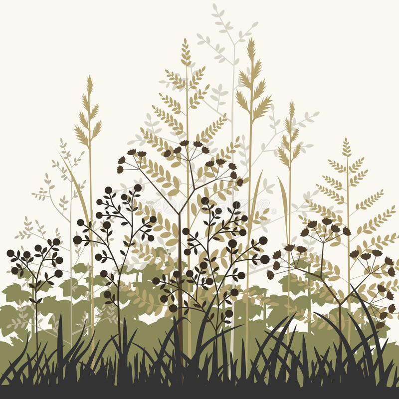 Download Plants And Grasses Background Royalty Free Stock Photos - Image: 21530488