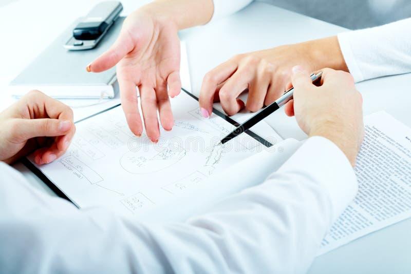 Planung lizenzfreies stockbild