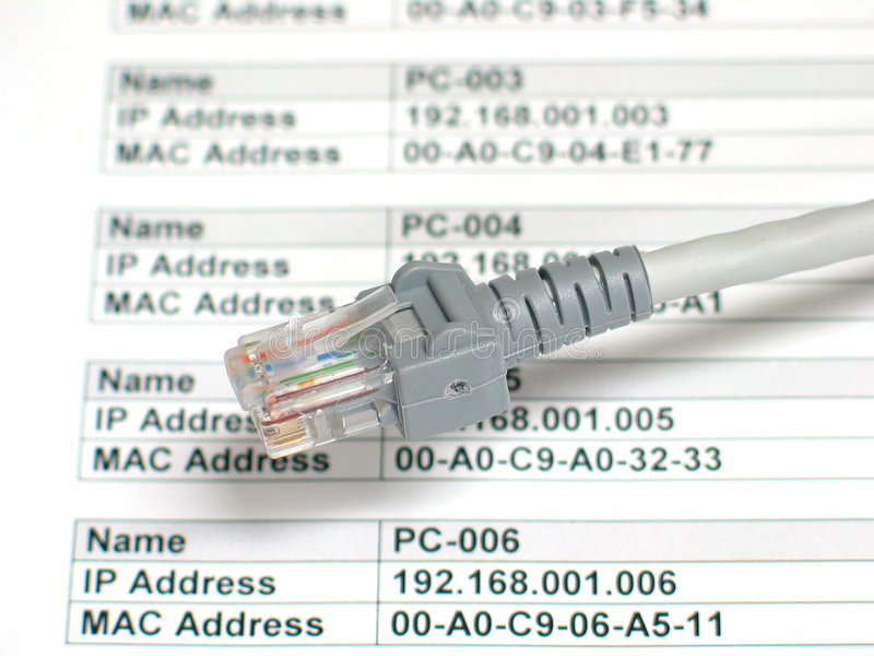 Planung eines Netzes lizenzfreies stockbild