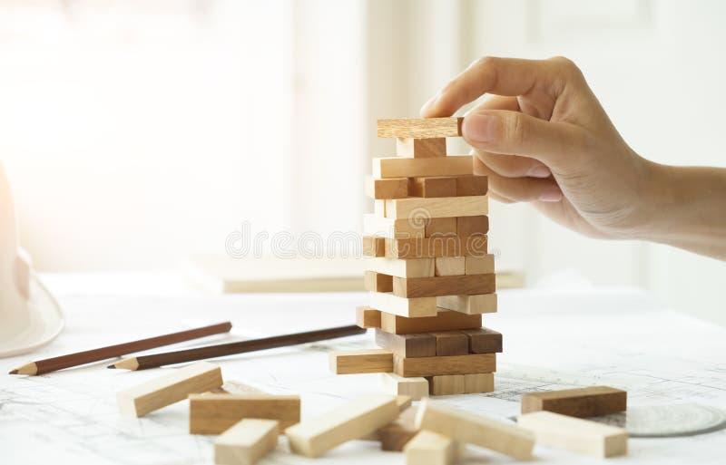 Planung, Risiko und Strategie des Projektleiters im Geschäft lizenzfreies stockfoto